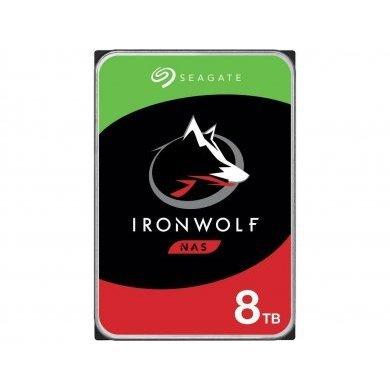 Hd 8Tb Sata 3 (Nas) Seagate-Iron Wolf St8000Vn004
