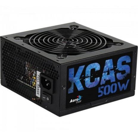 Fonte 500W Real Aerocool Kcas 500W Full Range