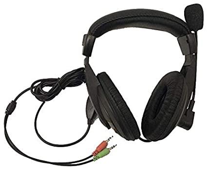 Fone+Mic Headset Preto Ars-7500 K-Mex