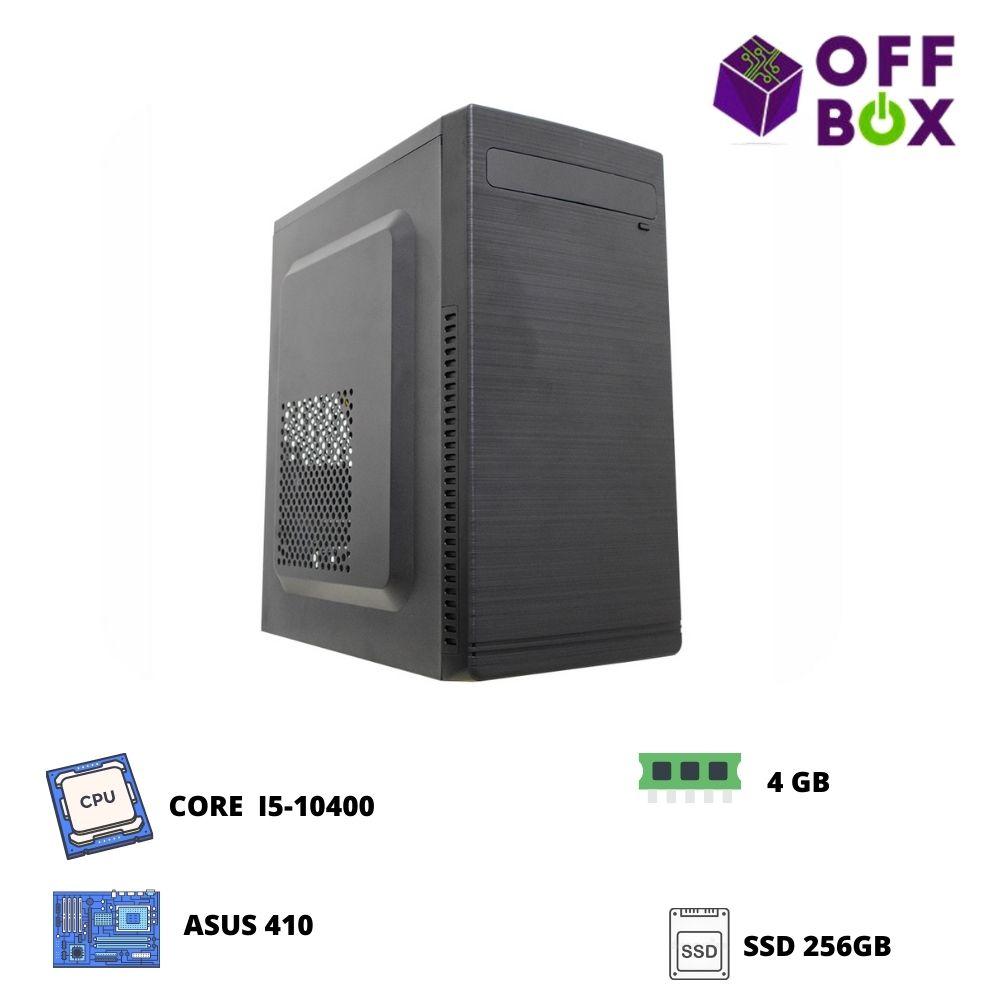 Desktop Offbox Corp I5-10400 , Asus 410, 4G, Ssd256
