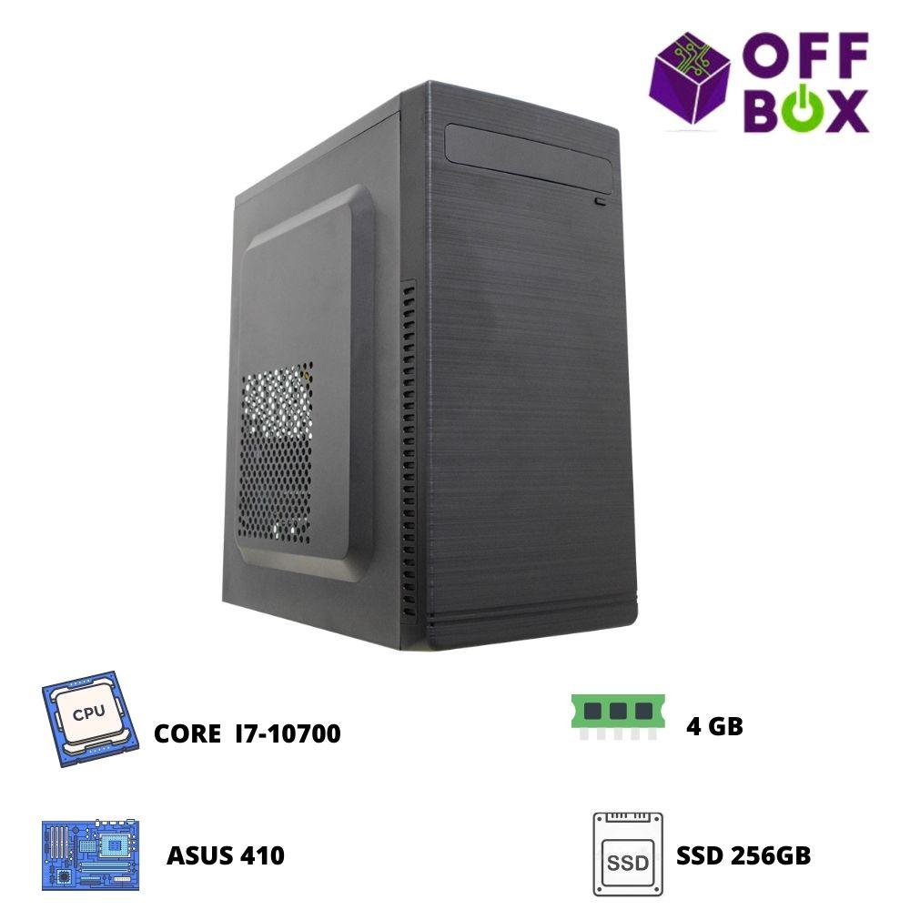 Desktop Offbox Corp I7-10700 , Asus 410, 4G, Ssd256Gb