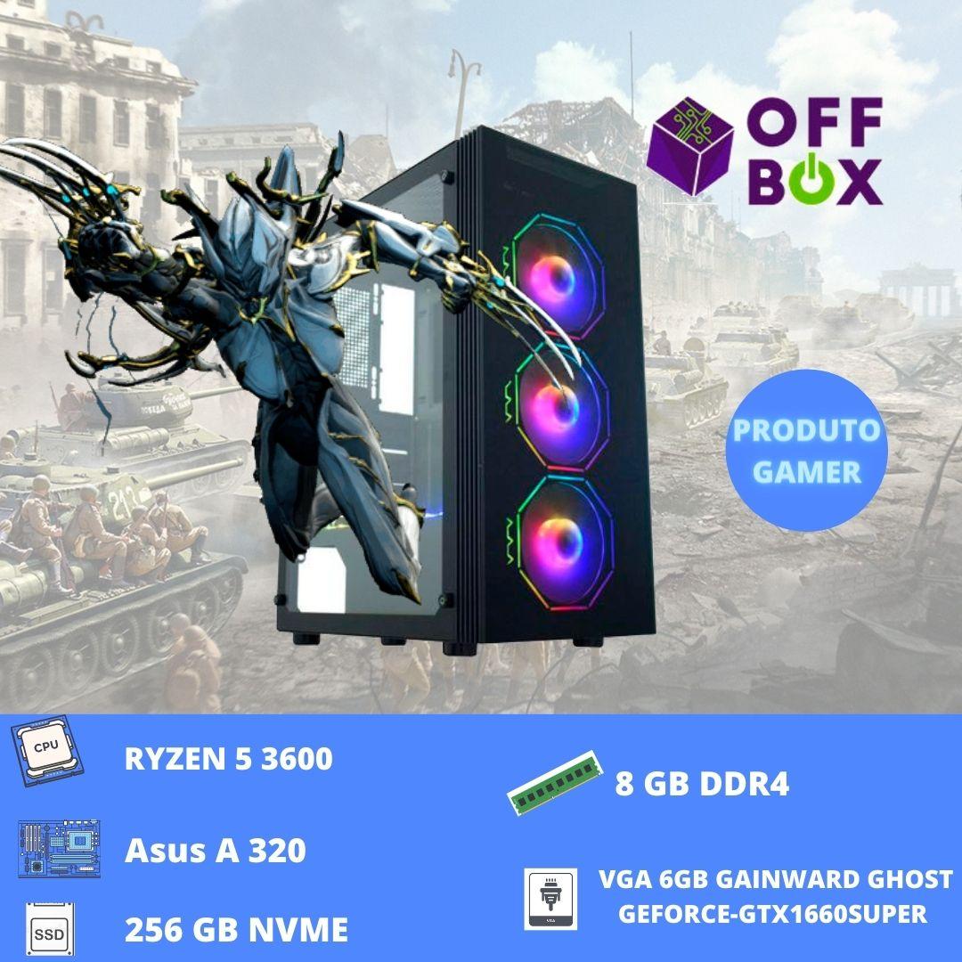Desktop Offbox Gamer Ryzen 3600 Asgard