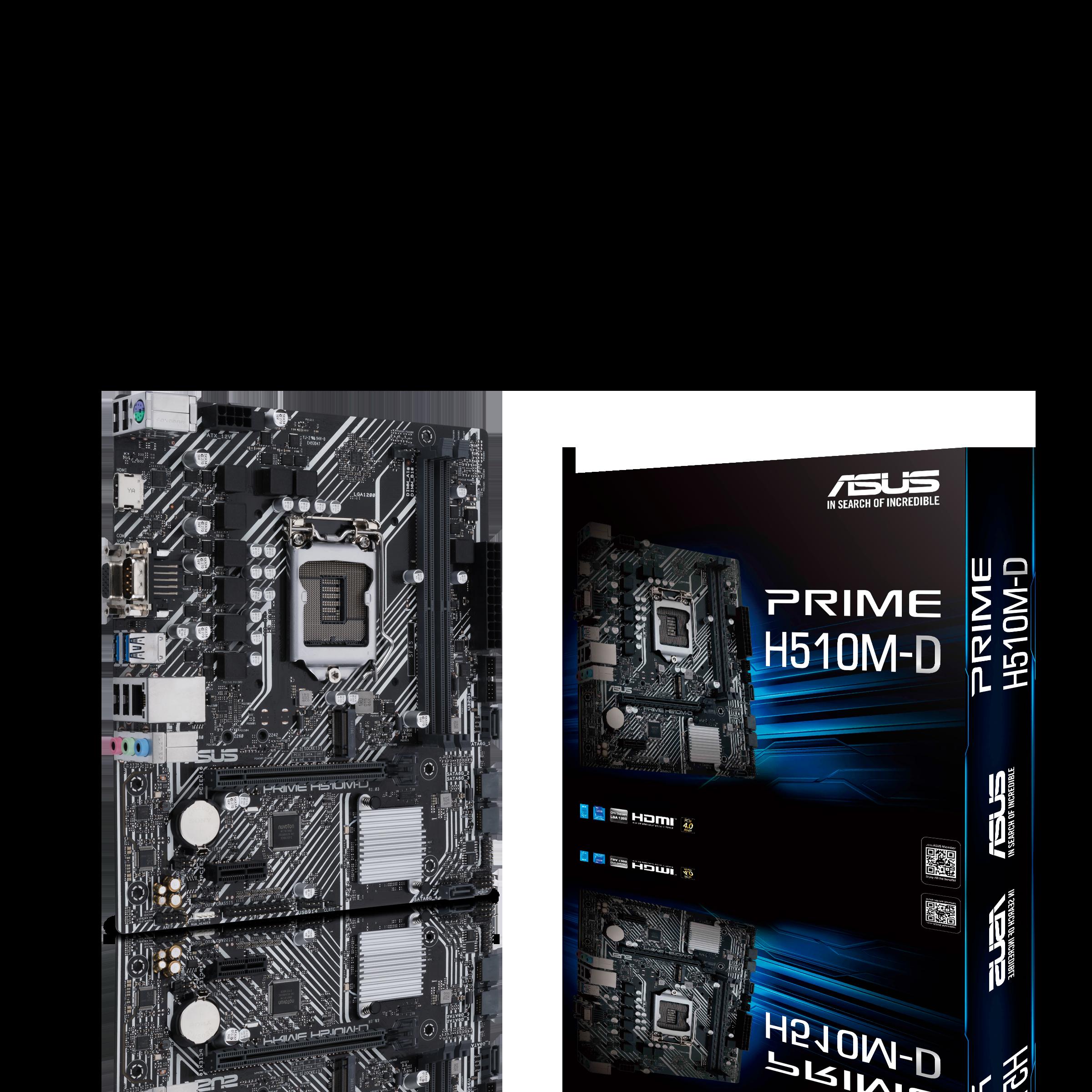 Placa Mae 1200 Asus Prime H510-D 10º, 11º Geração