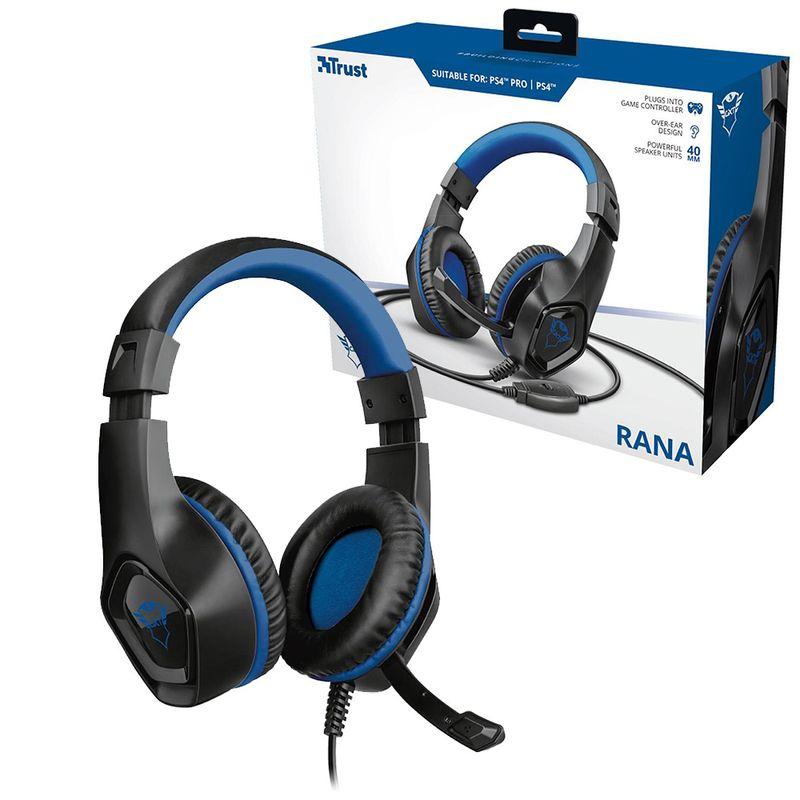Fone+Mic Headset Gamer 23309 Rana Gtx 404B Trust