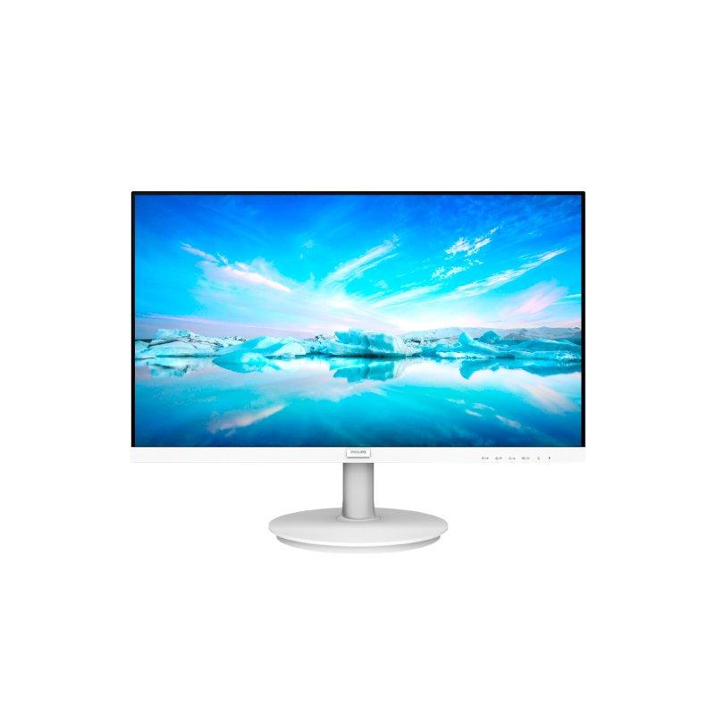 Monitor Lcd Led 21.5 Philips 221V8Lw Branco