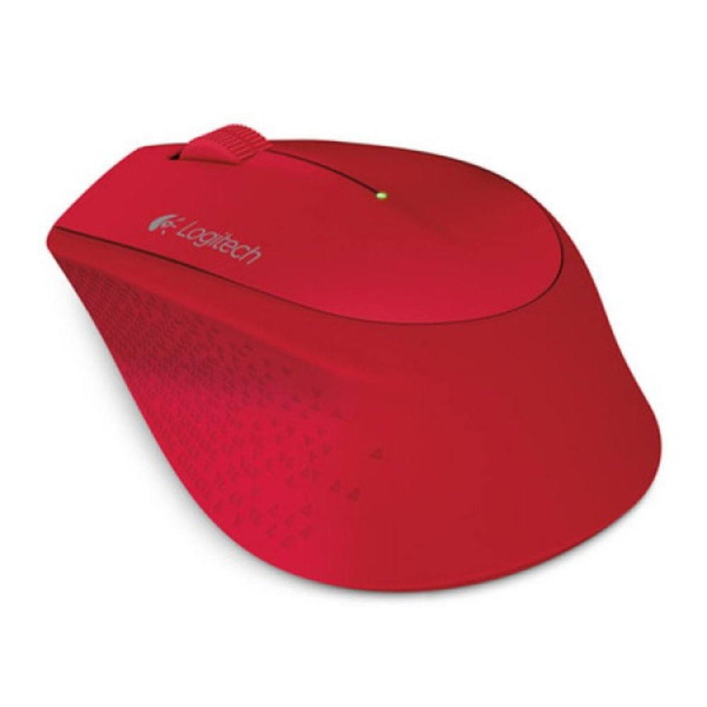 Mouse Wireless M280 Logitech Vermelho