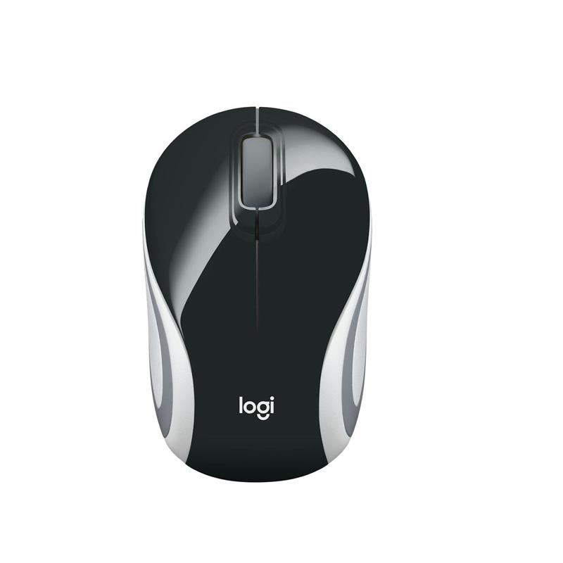 Mouse Wireless M-187  Logitech Branco E Preto