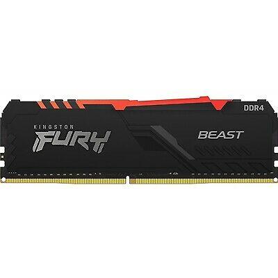 Memoria Ddr4 2666 8Gb Kingston Fury Beast Rgb