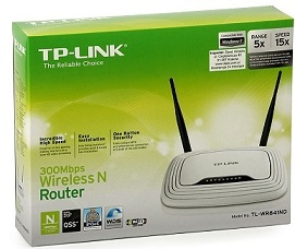 Roteador Wireless Tp Link Wr841Nd